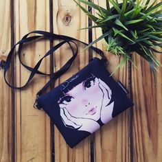 'DREAMER' Sling bag by @liza_hipeni on Creative United. Get this unique and gorgeous sling bag at http://ift.tt/1ZG2L6S .Free shipping!  Creative United is a free marketplace for the creatives to sell artworks with peace of mind on a vast range of high quality products.  Creative United. Empowering Malaysian Artists and Designers. Upload your artwork and sell it as merchandise. It's easy and free!  #creativeunited #creativeunitedmy #totebag #vsco #terlajaklaris #premium #vscocam #merchandise…