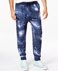 Univibe Galaxy-Print Jogger Pants
