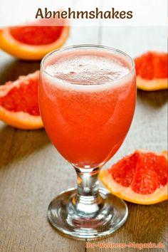 Abnehmshake mit Grapefruit, mit oder ohne Eiweiß und weitere leckere Abnehmshakes, Eiweißshakes
