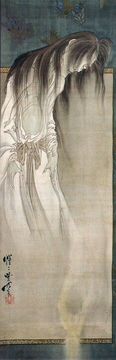 Female Ghost carrying off a Male Severed Head by Kawanabe Kyosai, 1871–1889 © British Museum