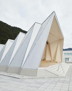 Triangular Architecture, Architecture Model Making, Concept Architecture, Pro Bono, 3d Modelle, Kirchen, Outdoor Gear, Design Art, Tent