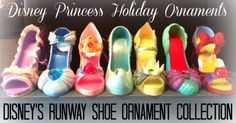 If The Shoe Fits.. Holiday Disney Princess Ornaments