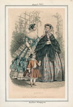 Graham's Magazine, August 1857. LAPL Visual Collection.