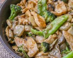 Delicious Moo Goo Gai Pan Recipe That Tastes Like It Came Straight From The Restaurant. It Is Filled With Chicken, Snow Peas, Broccoli And Mushrooms And Is Covered In A Delicious Asian Sauce.