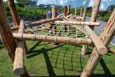 Lounging net - Playground Build & Design | Natural Child Play | Earth Wrights Ltd