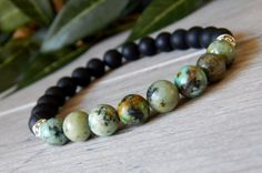 mens african turquoise bracelets