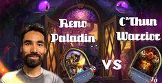 Lifecoach's Reno Paladin vs C'thun Warrior (High level play)
