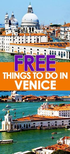 "Things To Do In Venice, Italy The question I get asked the most about Venice is, ""What are the free things to do in Venice?The question I get asked the most about Venice is, ""What are the free things to do in Venice? European Vacation, Italy Vacation, European Travel, Italy Honeymoon, Italy Trip, Honeymoon Destinations, Vacation Spots, Toscana, Cinque Terre"