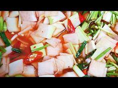 YouTube Korean Food, Kimchi, Feta, Sushi, Cheese, Cooking, Kitchen, Korean Cuisine, Brewing