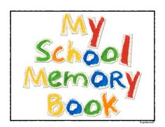 As the end of the school year approaches, help students reflect by creating their very own school memory book. This memory book includes the following pages:Memory Book Cover About this Year My Favorite Things My Favorite School LunchMy Favorite Recess Activity My Favorite SubjectMy Favorite Book My Favorite Class Activity My Favorite Field Trip I Will Never Forget When The Funniest Moment Special Letter to My Teacher What a Friend Next YearAutographsThere are 18 pages in all.