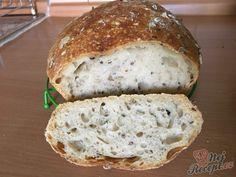Bread Recipes, Snack Recipes, Cooking Recipes, Healthy Recipes, Czech Recipes, Salty Foods, Creative Food, Bread Baking, Food Hacks