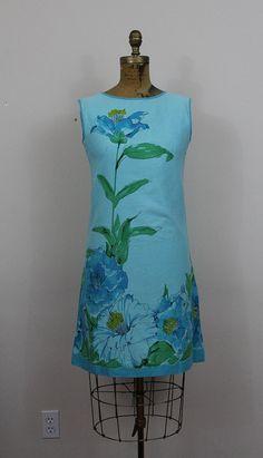 1960s Vera Neumann I Camellia Dress