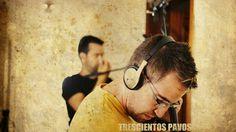 Alex Oneto durante el rodaje de Trescientos Pavos (300 Pavos)