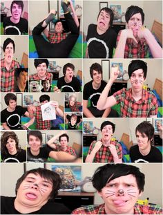 Dan and phil ( Danisnotonfire and amazingphil) Phil 3, Dan And Phil, Phan Is Real, Sam And Colby, Danisnotonfire And Amazingphil, Tyler Oakley, Phil Lester, Dan Howell, Stuff And Thangs