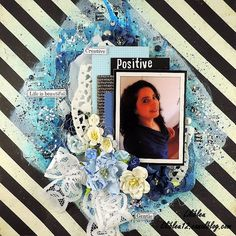 """Layout by More Than Words DT member Lilibleu inspired by the January """"Personality"""" & """"Selfie"""" Main Challenge. More details at http://morethanwordschallenge.blogspot.ca/2016/01/january-main-challenge-personality.html  #morethanwords #mtwchallenge #morethanwordschallenges #mtw"""