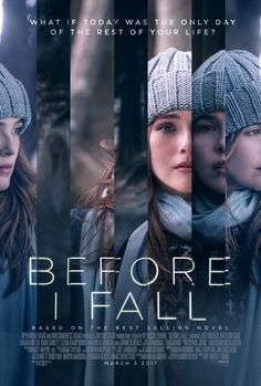 BEFORE I FALL movie review, starring Zoey Deutch, Halston Sage, Elena Kampouris, and Logan Miller!