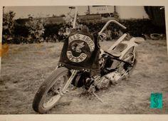 Classic old shot of a Hells Angels Jacket / Colors / Cut