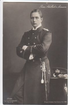 Prince Adalbert of Prussia. My favorite son of the Kaiser most definitely! Queen Victoria Family, Princess Victoria, Von Hohenzollern, Empress Sissi, German Royal Family, Wilhelm Ii, Favorite Son, British Armed Forces, Royal Princess