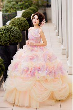ハニーのカラードレス2016