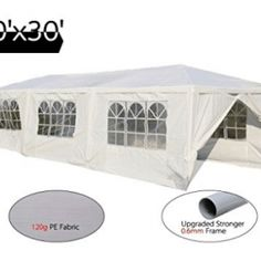 Peaktop 10'x30' Heavy Duty Outdoor Party Wedding Tent Canopy Gazebo Storage Shelter Pavilion Canopy Tent, Tents, Tent Reviews, Best Part Of Me, Gazebo, Party Wedding, Pavilion, Shelter, Storage