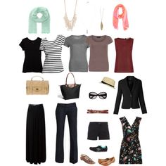 """My Travel Packing List"" by sabadodomingo on Polyvore"