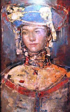 Tanya Wolski-Kazak (Belarusian:1984) Contemporary Art, Art Gallery, Female, Minsk Belarus, Facebook, Painting, Faces, Artists, Art
