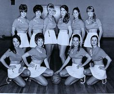 Pacific Southwest Airlines (PSA) Flight Attendant Basketball Team, The Jets (date unknown) – San Diego Air and Space Museum Archive San Diego Basketball, Women's Basketball, Basketball Uniforms, Southwest Airlines Flight Attendant, Basket Vintage, Flight Attendant Humor, Flights To London, All Airlines, Airline Uniforms