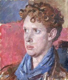 Dylan Thomas, 1938 by Augustus John. Post-Impressionism. portrait