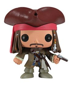 Take a look at this Jack Sparrow Pop! Figurine by Disney on #zulily today! $9 !!