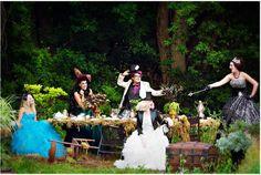 Alice in Wonderland Photoshoot by Lisa Walsh