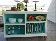 A 60's Hi Fi Cabinet Gets A Stunning Makeover into Buffet Cabinet  From Starview Sonnet