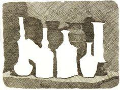 Morandi-Stilleven-van-vazen-op-een-tafel--1931--koperets.