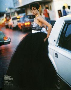 ☆ Christy Turlington by Arthur Elgort for Vogue UK, June 1990 ☆ Arthur Elgort, 90s Models, Christy Turlington, Famous Photographers, Vogue Magazine, Fashion Story, Celebrity Photos, Editorial Fashion, Supermodels