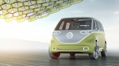 Volkswagen has revealed a futuristic-looking, driverless version of its iconic VW Microbus – the vehicle most associated with the 1960s hippie movement