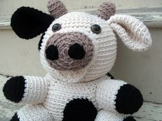 Crochet PATTERN Cow pdf by FreshStitches on Etsy, $4.00