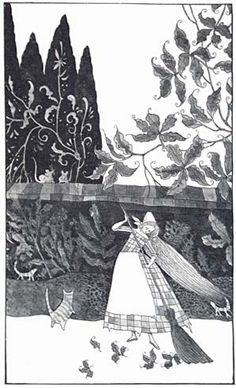 art, illustration,  //  Errol Le Cain - Cinderella