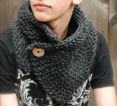 Snood tricoté - beabidouilles [Inspiration Mondial Tissus] C'est la mode du snood, alors lancez-vous !