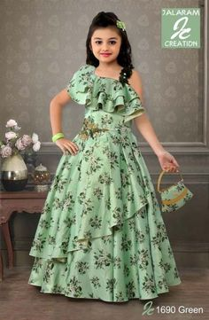 67 Ideas Fashion Dresses Sketches Gowns For 2019 - Kids gown - Girls Frock Design, Kids Frocks Design, Baby Frocks Designs, Baby Dress Design, Kids Dress Wear, Kids Gown, Frocks For Girls, Gowns For Girls, Long Frocks For Kids
