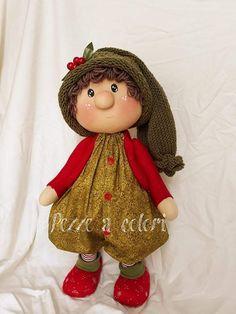 PDF cloth doll pattern Tutorial doll is 27 cm / 10 in Doll body Cloth Doll Pattern PDF Sewing Tutorial Soft Doll Pattern DIY pdf pattern Diy Christmas Elf Doll, Christmas Crafts, Christmas Ornaments, Beaded Banners, Soft Dolls, Stuffed Toys Patterns, Advent, Raggedy Ann, Santa Decorations