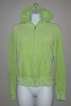 Juicy Couture Lime Green Terry Cloth Tracksuit - Size M/L. Starting at $25