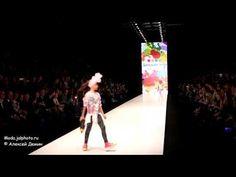 «Детский Мир» и Оксана Федорова показ коллекций детской одежды весна лет...