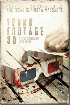 """Teaser Poster For """"Found Footage 3D"""" 
