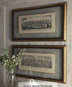 45 best framing antique prints ideas images on pinterest diy