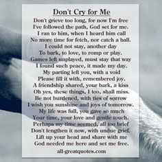 Loss Of A Pet Loss Cards Grief and Bereavement from losing a Pet. Dog Loss Poem, Pet Loss Quotes, Loss Of Dog, Dog Quotes, Animal Quotes, Dog Sayings, Dog Death Quotes, Animal Signs, Dachshund Quotes