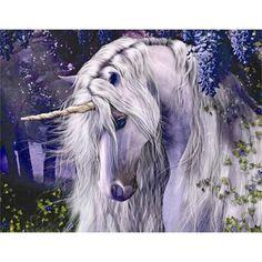 Fantasy Unicorn, Unicorn And Fairies, Unicorns And Mermaids, Unicorn Horse, Unicorn Art, White Unicorn, Purple Unicorn, Magical Unicorn, Fantasy Kunst