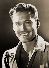 Errol Flynn with that electric smile!! :D