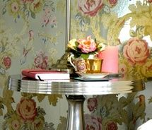 would love one wall - with eclectiv wall-paper