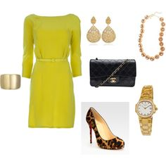 evening out, created by blingslinger-42 on Polyvore
