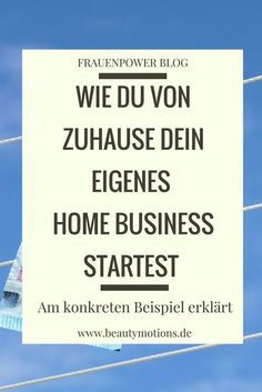 Jobs - Geschäftschance Start your own, serious home business - this is how it works: Info video with Home Based Business, Business Tips, Online Business, Business Quotes, Affiliate Marketing, Online Marketing, Marketing Goals, Multi Level Marketing, Work From Home Opportunities