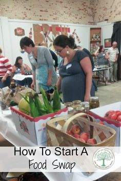 Here's a basic rundown of how a food swap works and how to start your own! The Homesteading Hippy via @homesteadhippy